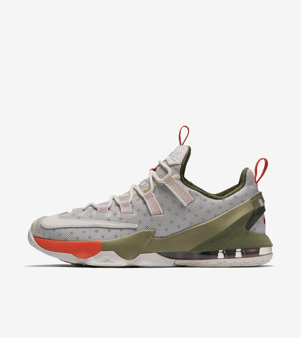 new arrival f6ef6 a7712 Nike LeBron 13 Low  Phantom   Olive  Release Date. Nike+ SNKRS