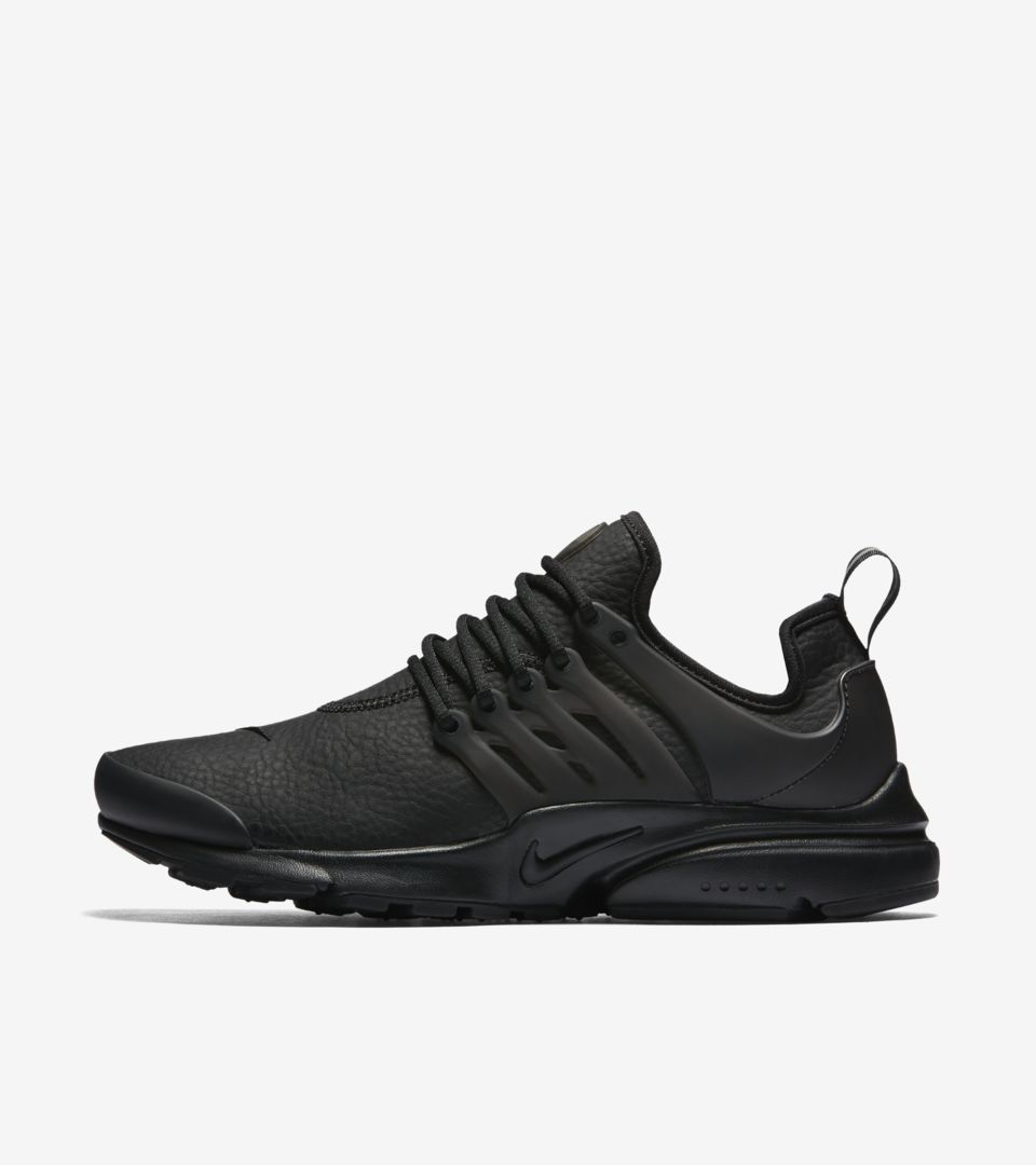 sneakers best place high quality Women's Nike Air Presto Premium 'Triple Black'. Nike SNKRS