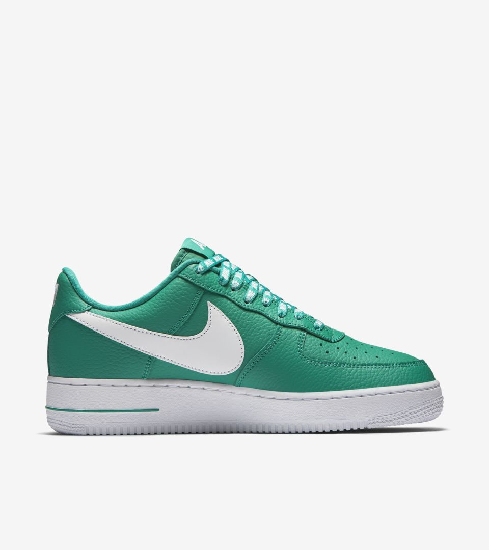 d79d2353a7 Nike AF-1 Low NBA 'Neptune Green & White' Release Date. Nike+ SNKRS