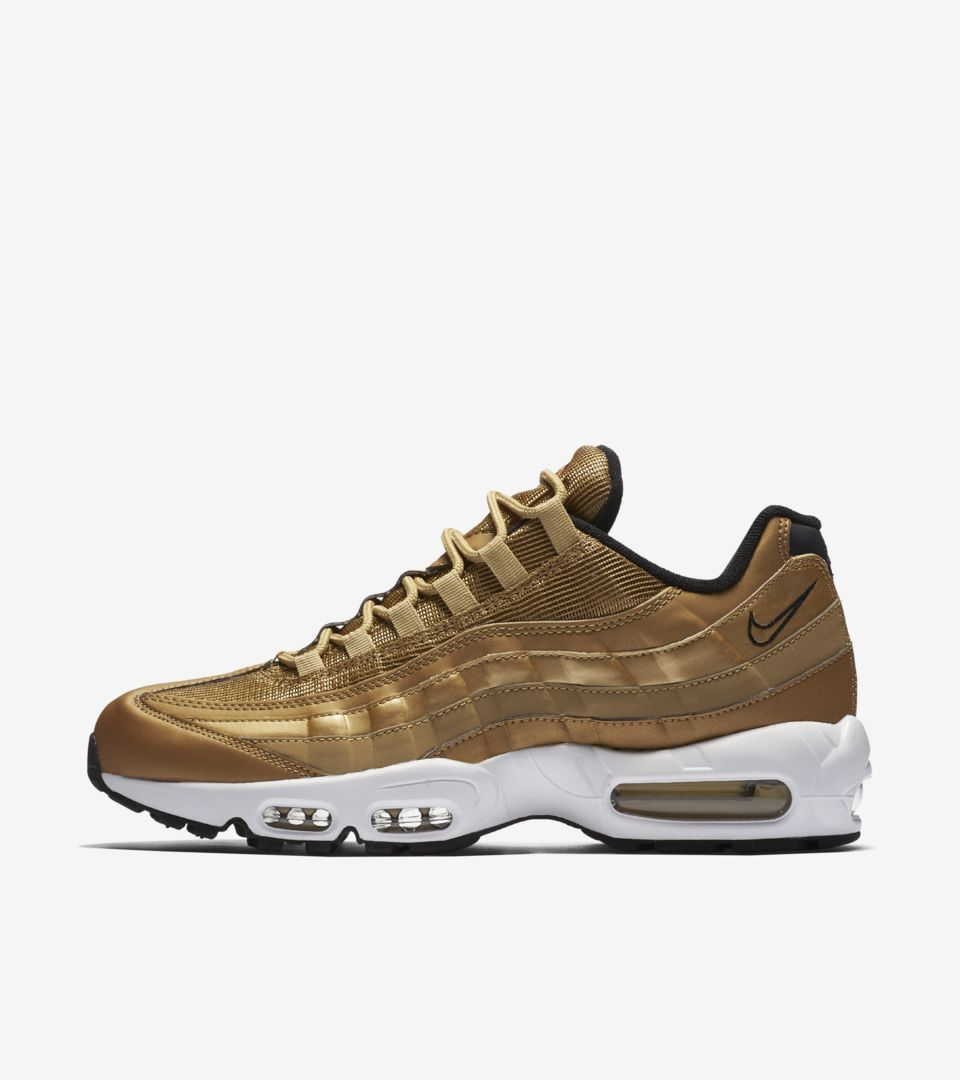 super popular 448ee 82d81 Nike Air Max 95  Metallic Gold  Release Date. Nike⁠+ SNKRS