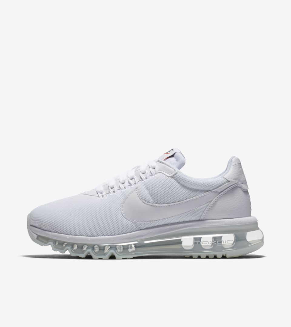 Women's Nike Air Max LD ZERO 'Triple White'. Nike⁠Plus SNKRS