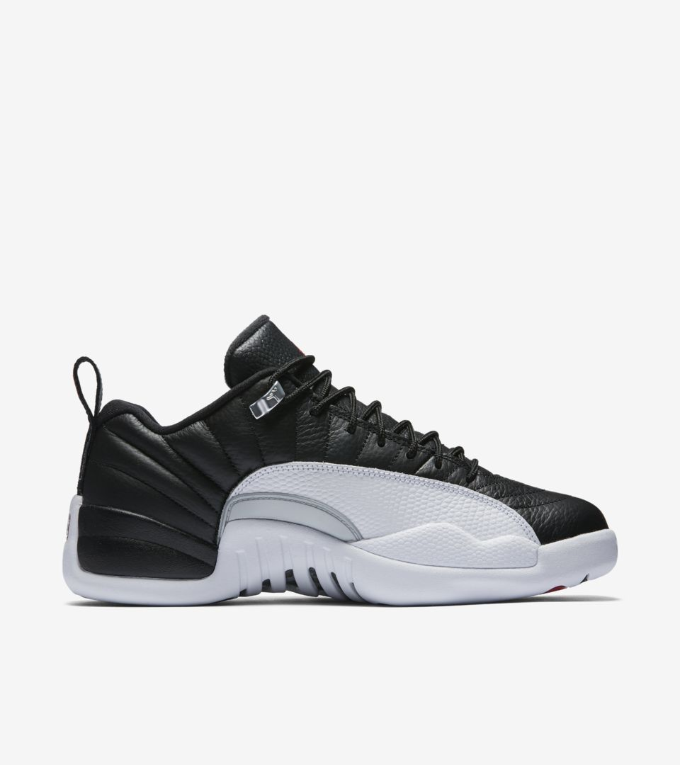 new product f7e10 1a98f Air Jordan 12 Retro Low 'Playoff'. Nike⁠+ SNKRS