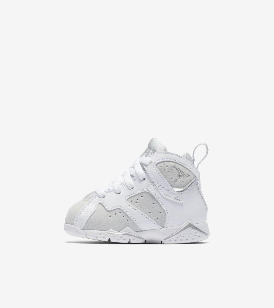 separation shoes 59c6c 88423 Air Jordan 7 Retro 'White & Pure Platinum' Release Date ...