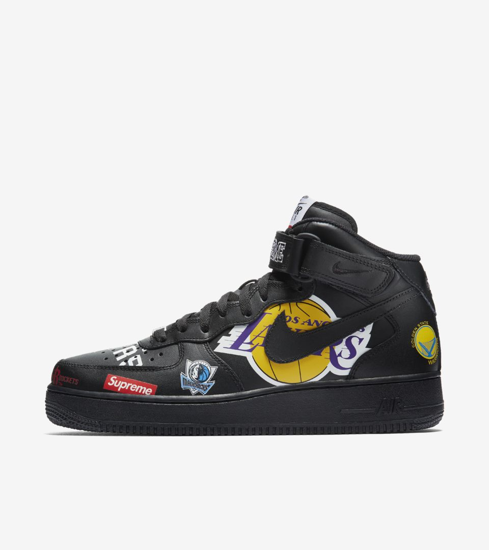 classic fit 48560 56da0 SUPREME NIKE NBA.  165. AIR FORCE 1 MID AIR FORCE 1 MID ...