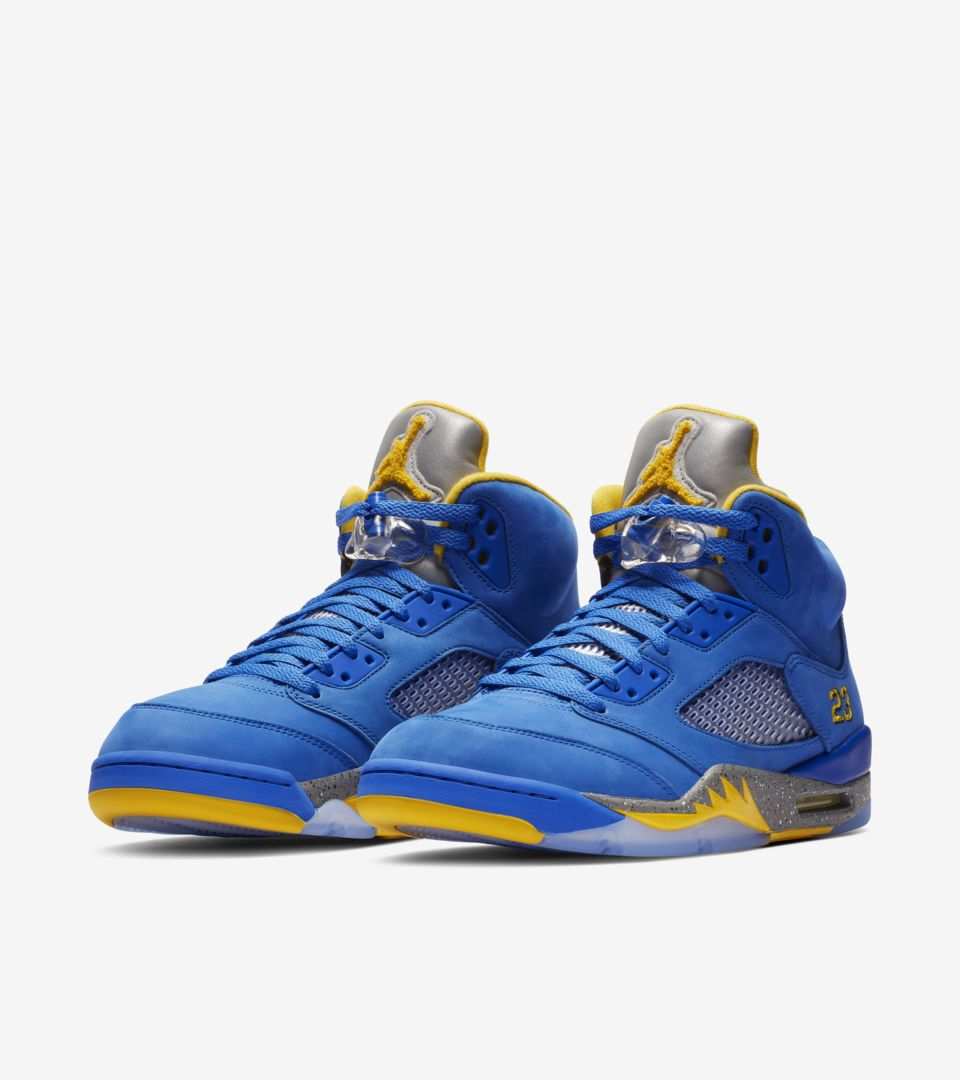 Air Jordan 5 'Varsity Royal & Varsity Maize' Release Date
