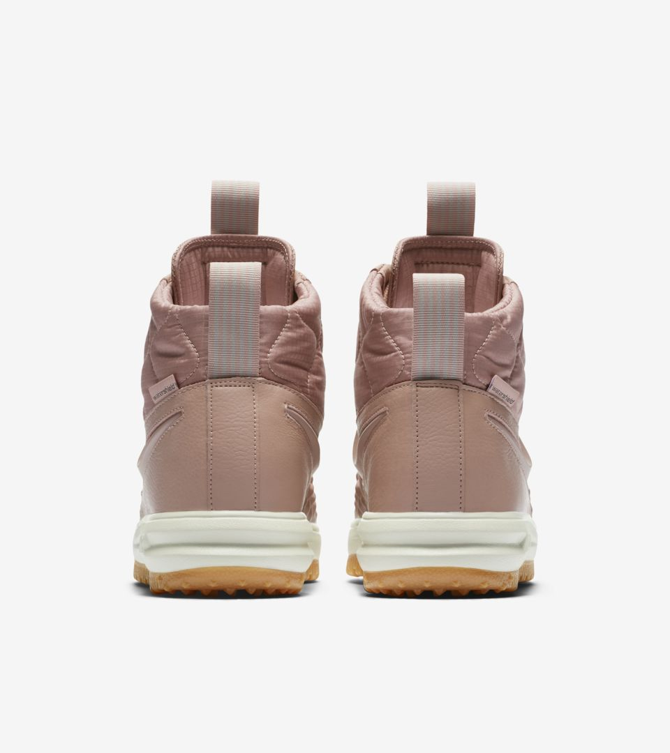 Women s Nike Lunar Force 1 Duckboot  Particle Pink  Release Date ... 8aecb3faf