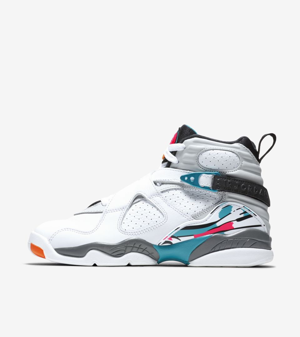 los angeles 29b8c a81c3 Air Jordan 8 Retro 'White & Turbo Green' Release Date. Nike ...