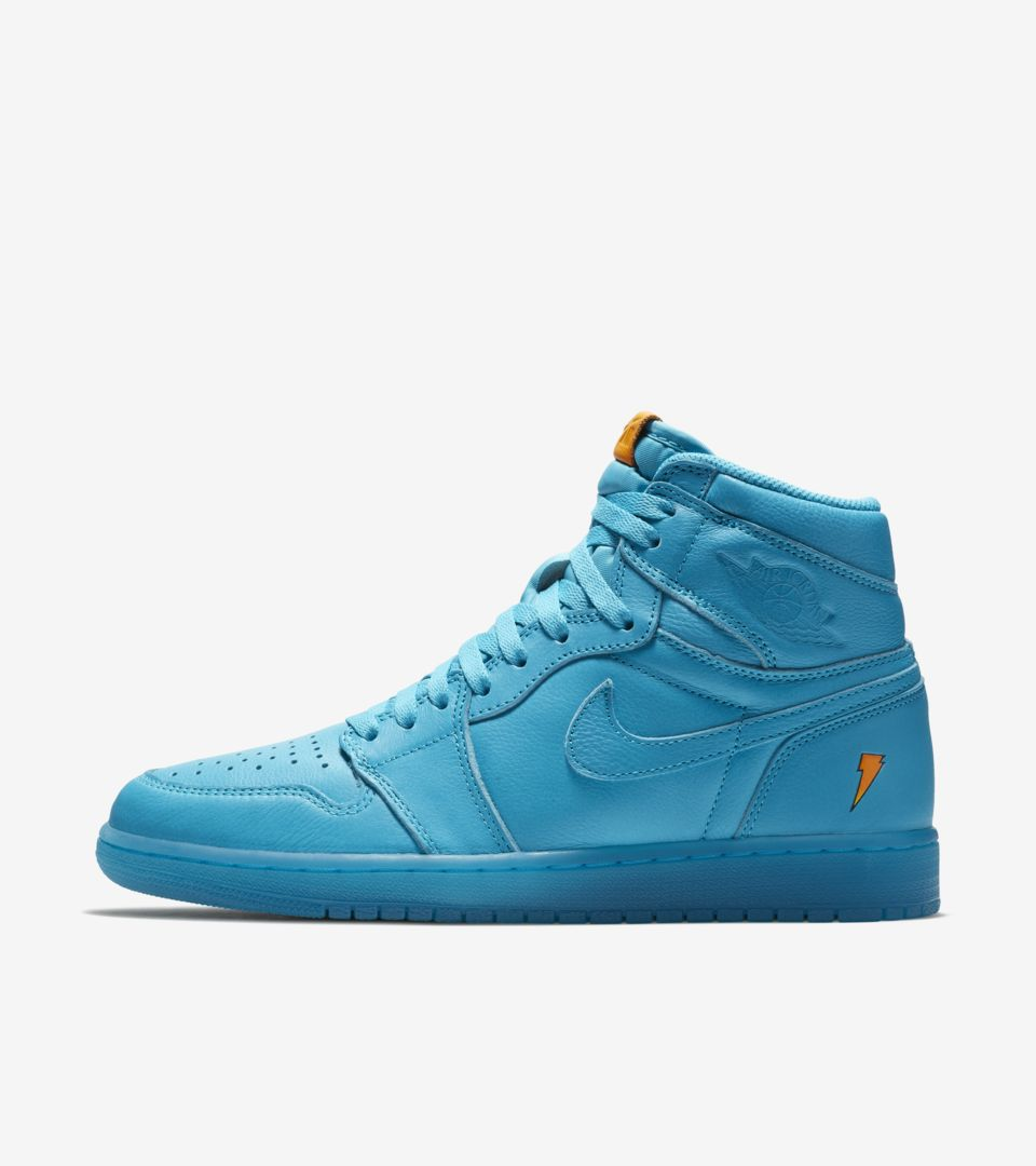fc53966b8c1 Air Jordan 1 High Gatorade 'Cool Blue' Release Date. Nike⁠+ SNKRS