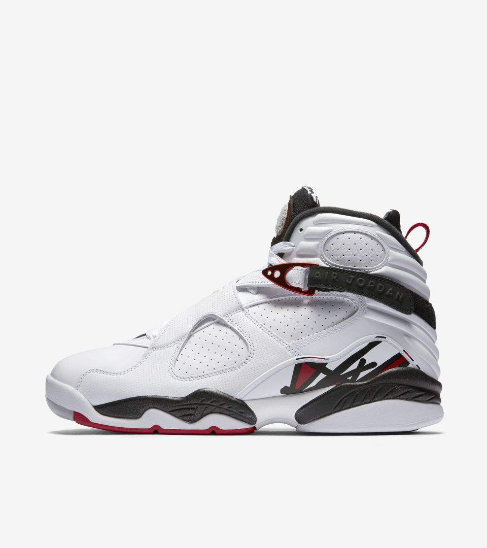 check out 1b8d5 51ce6 Air Jordan 8 Retro  White   Black   Gym Red . Nike⁠+ SNKRS