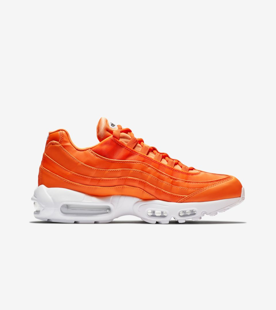 separation shoes a4232 48b94 ... Nike Air Max 95 JDI Collection  Total Orange   White  ...