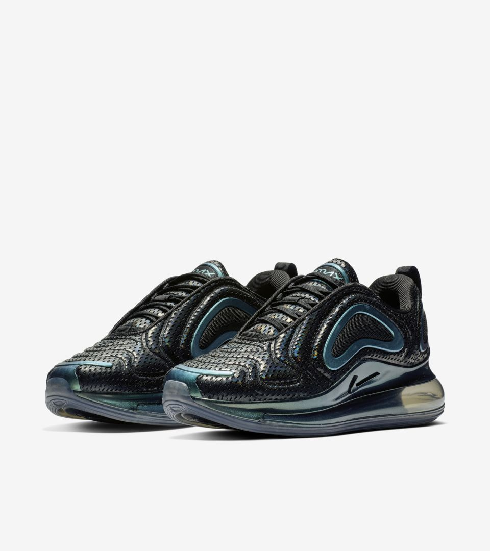 online retailer 51235 a501e Women s Air Max 720 Iridescent  Black   Anthracite  ...