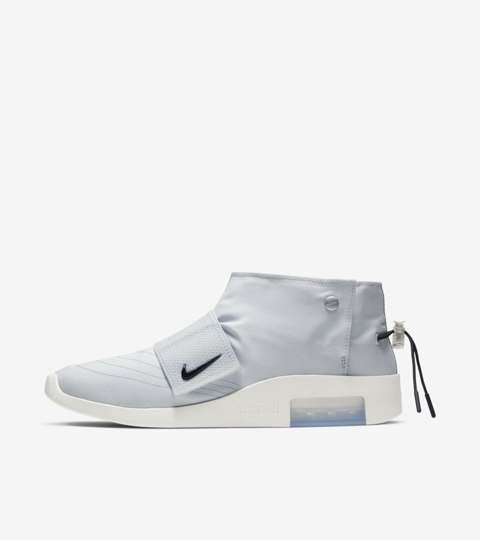 Air Fear of God Moc 'Pure Platinum' Release Date