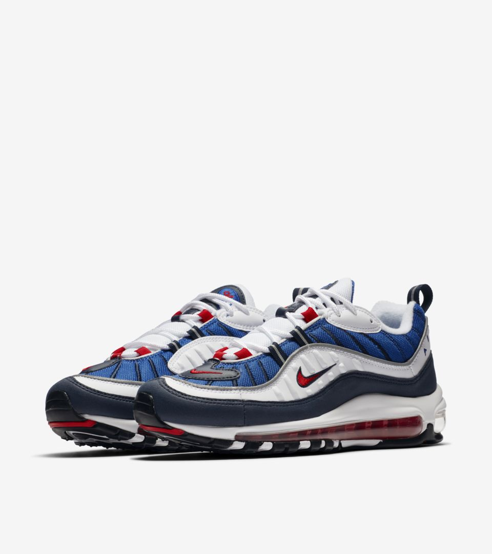 Date de sortie de la Nike Air Max 98 « University Red & ...