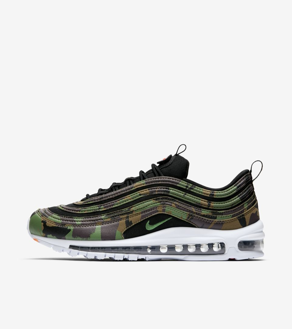 wholesale outlet autumn shoes best value Nike Air Max 97 Premium 'United Kingdom' Release Date. Nike ...