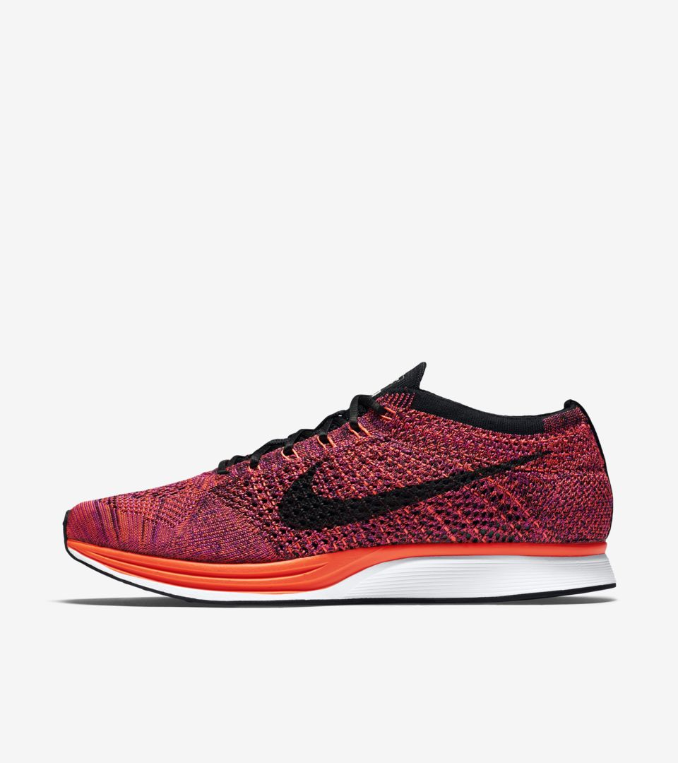 01fe9c9ce5ab8 Nike Flyknit Racer  Acai Berry  Release Date. Nike⁠+ SNKRS