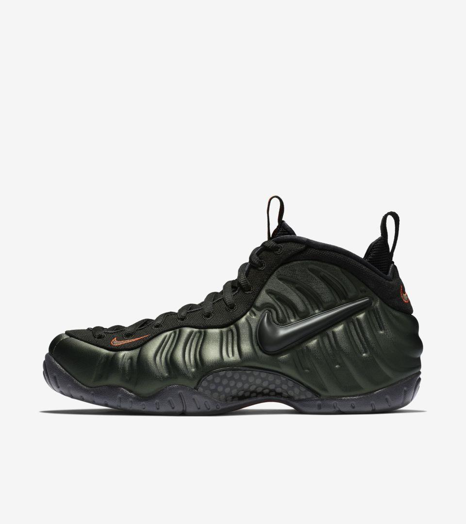 b6c58f85c4203e Nike Air Foamposite Pro  Sequoia   Black  Release Date. Nike+ SNKRS