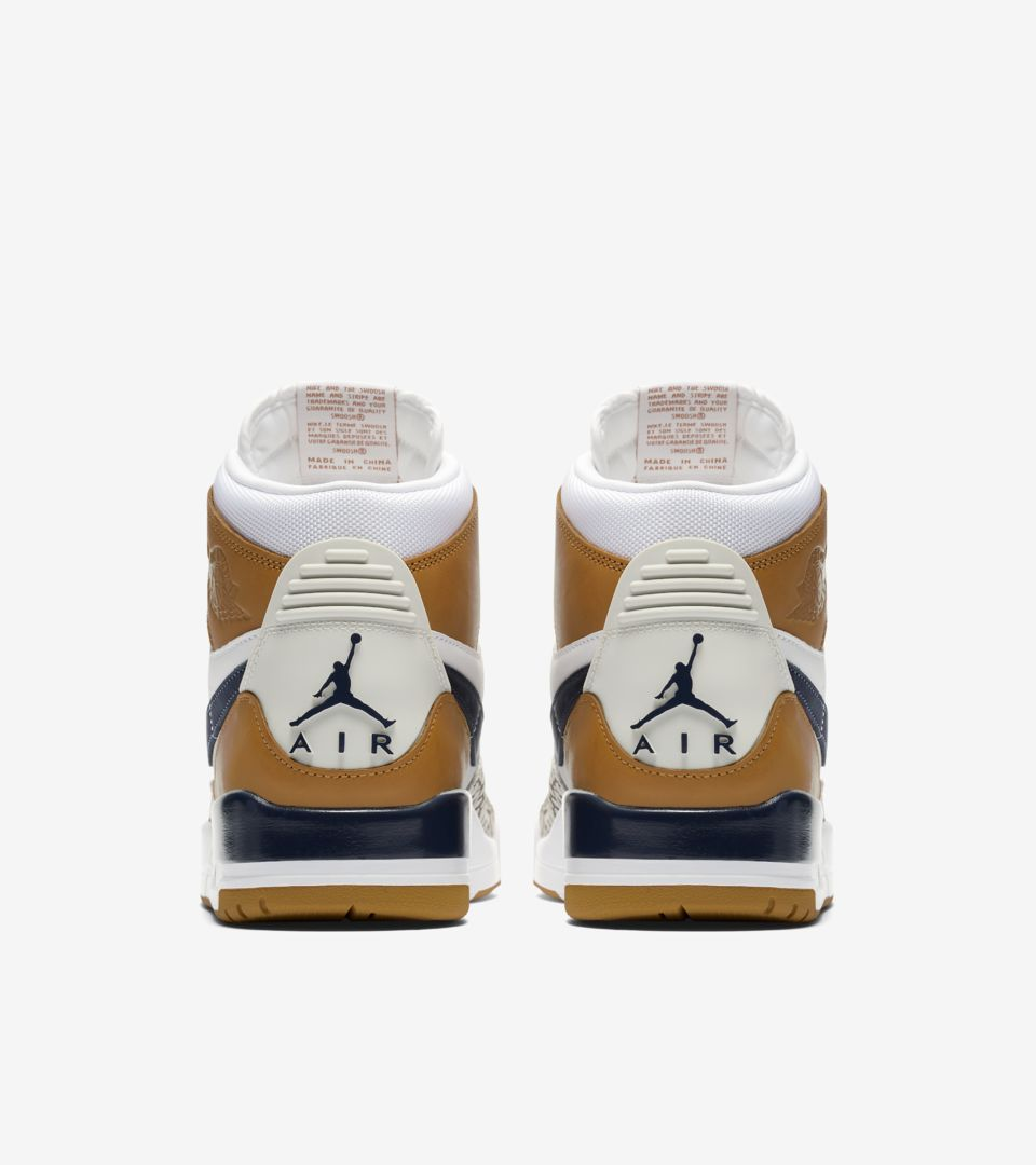 Air Jordan Legacy 312 'White & Midnight Navy & Ginger' Release Date