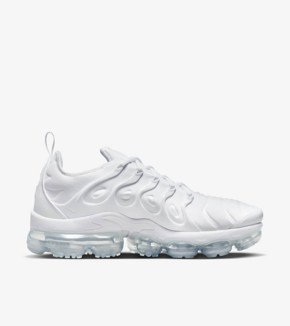 best sneakers 6de31 6830c Nike Air Vapormax Plus 'White & Pure Platinum' Release Date ...