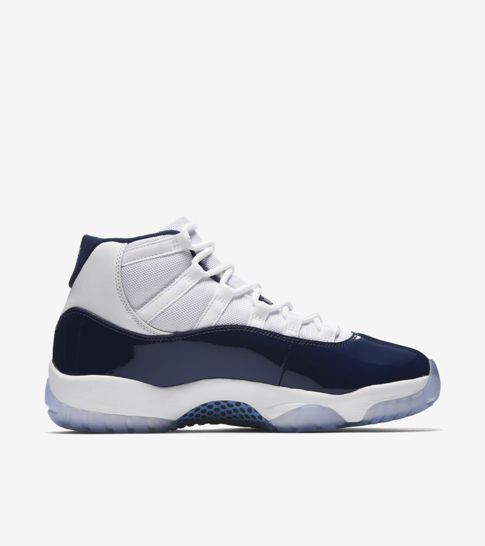 Air Jordan 11 Retro  Midnight Navy  Release Date. Nike⁠+ SNKRS 55fecb932