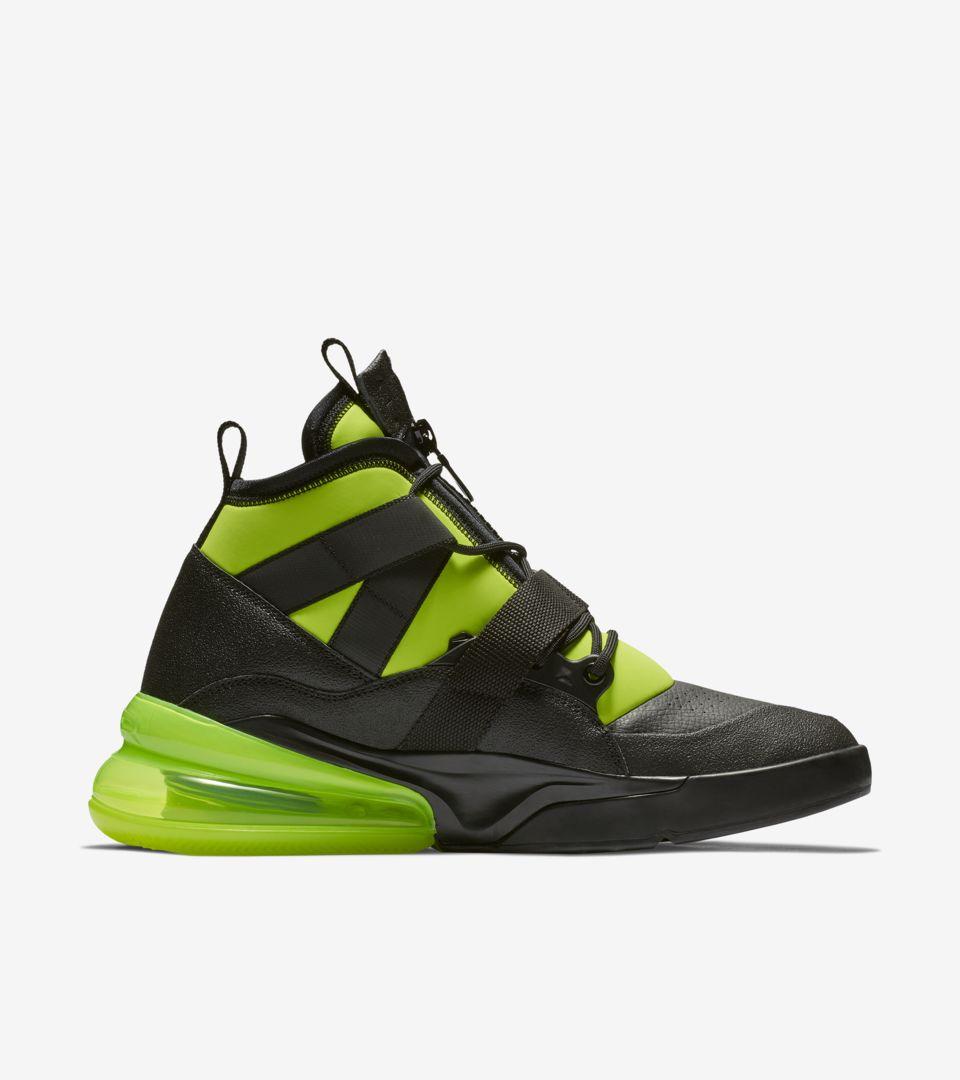 Nike Air Force 270 Utility 'Black & Volt' Release Date. Nike