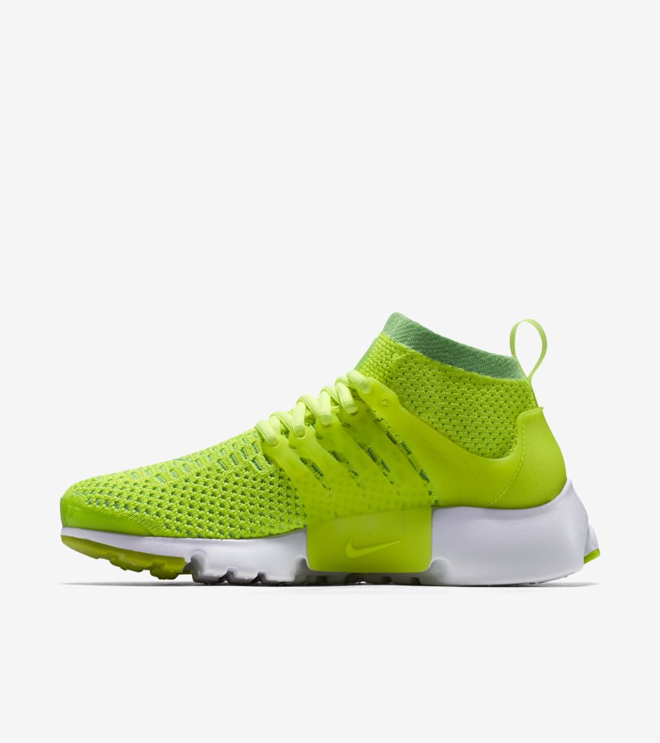 buy popular 33fd2 018fb Women's Nike Air Presto Ultra Flyknit 'Volt Green' Release ...