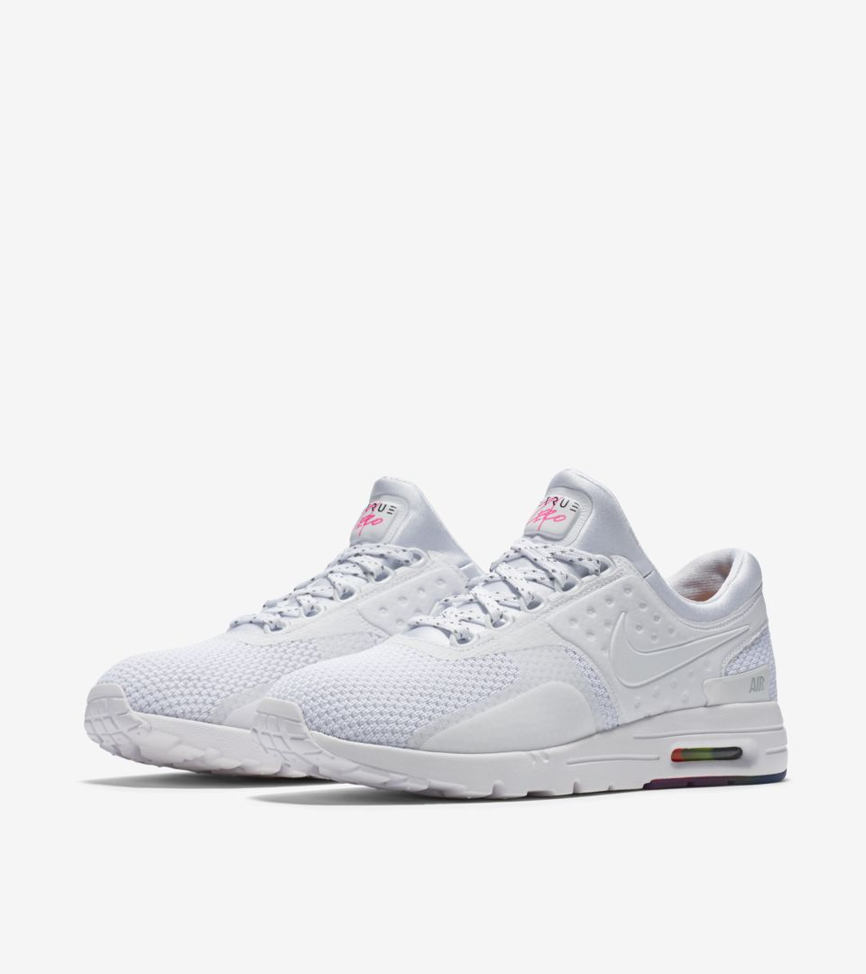 the best attitude d5b61 07457 Women's Nike Air Max Zero 'Be True' Release Date. Nike+ SNKRS