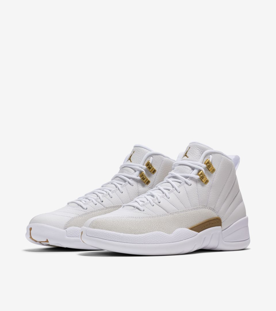 Air Jordan 12 OVO  White   Metallic Gold  Release Date. Nike⁠+ SNKRS dd55538bb