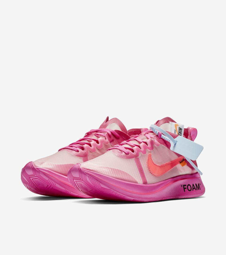 The Ten: Nike Zoom Fly 'Tulip Pink & Laser Fuchsia & Racer Pink' Release Date