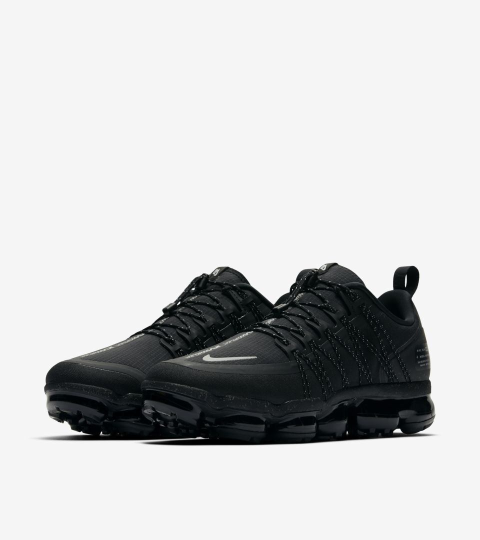 new concept eebb0 54f67 Nike Air Vapormax Run Utility 'Black & Reflective Silver ...