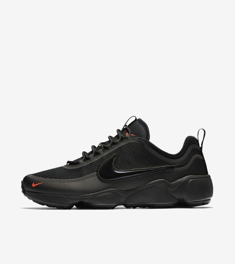 Nike Air Zoom Spiridon 'Black \u0026 Bright