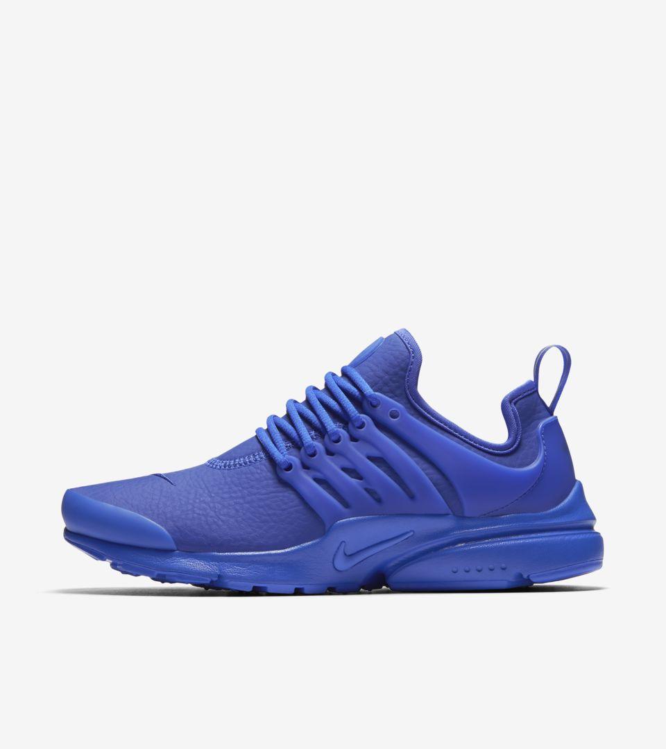 free shipping 063f4 c7866 Women's Nike Air Presto Premium 'Paramount Blue'. Nike+ SNKRS