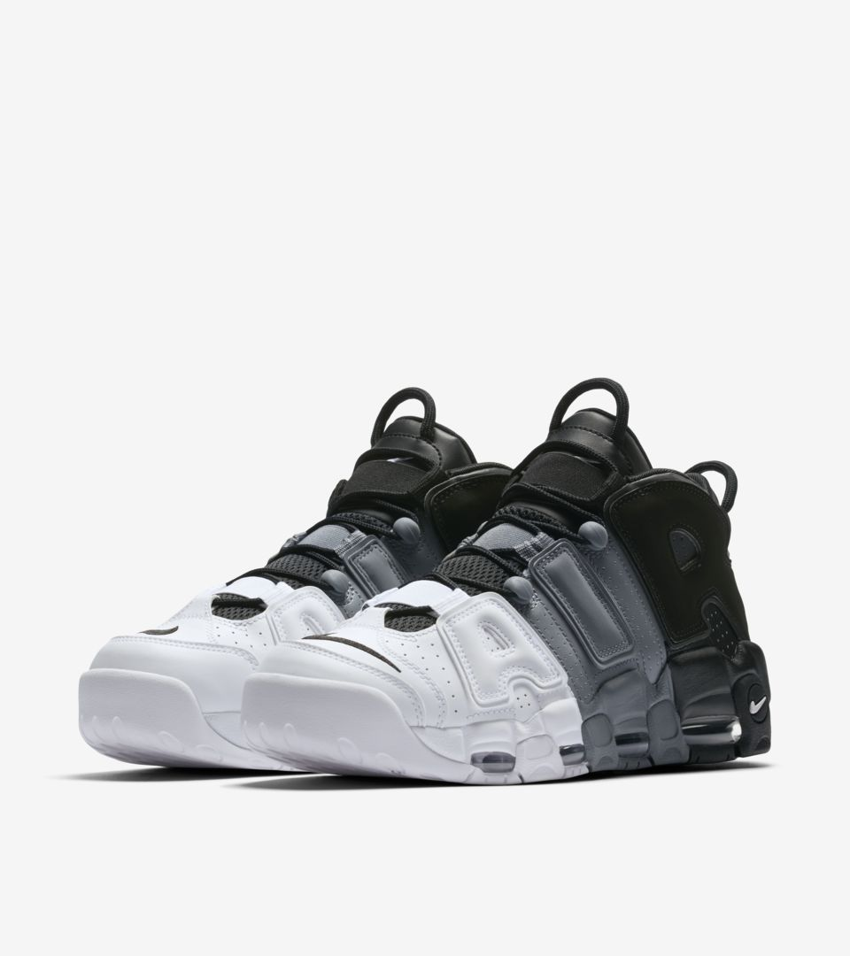 Nike Air More Uptempo  96  Black   White   Cool Grey . Nike⁠+ SNKRS db41dd5d4f6d
