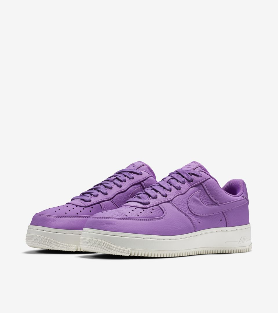 new products 37430 2d229 NikeLab Air Force 1 Low 'Purple Stardust'. Nike+ Launch FI