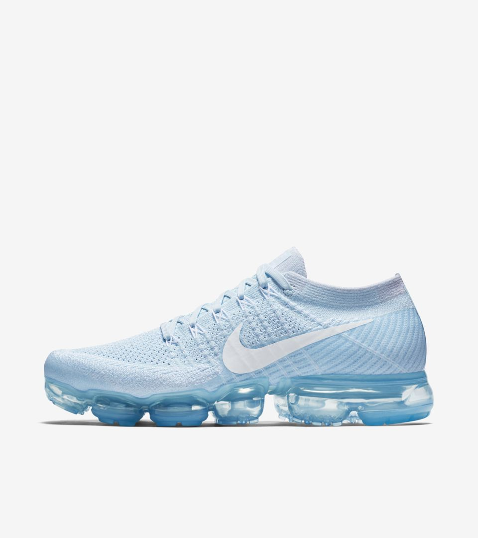best sneakers 082a3 bd446 Nike Air VaporMax Flyknit Day to Night 'Glacier Blue'. Nike ...