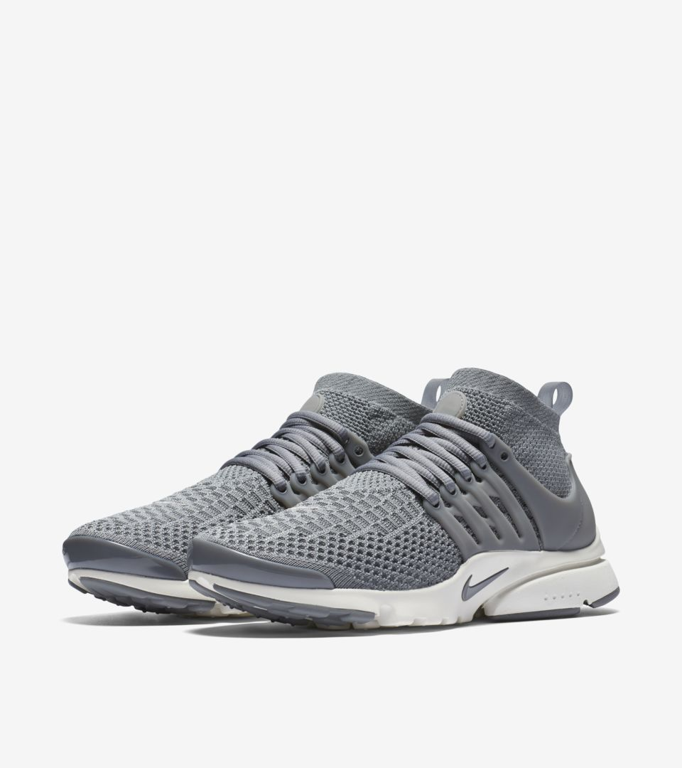 cheap for discount 563e4 17923 Women's Nike Air Presto Flyknit Ultra 'Cool Grey' Release ...