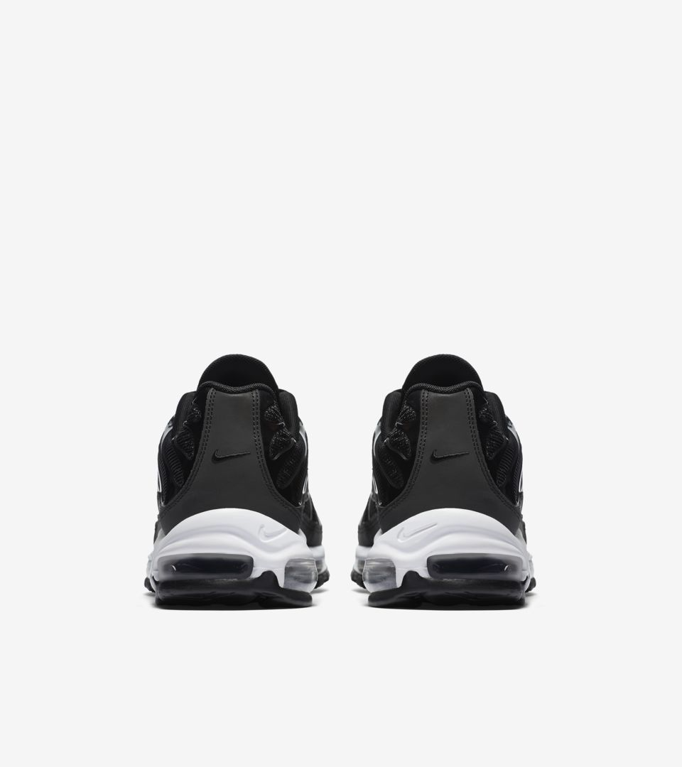 detailed look 13941 b6570 Nike Air Max 97 Plus 'Black & White' Release Date. Nike+ SNKRS