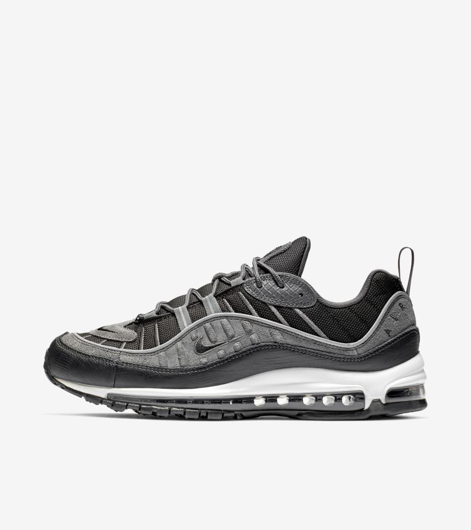 Nike Air Max 98 'Black \u0026 Anthracite