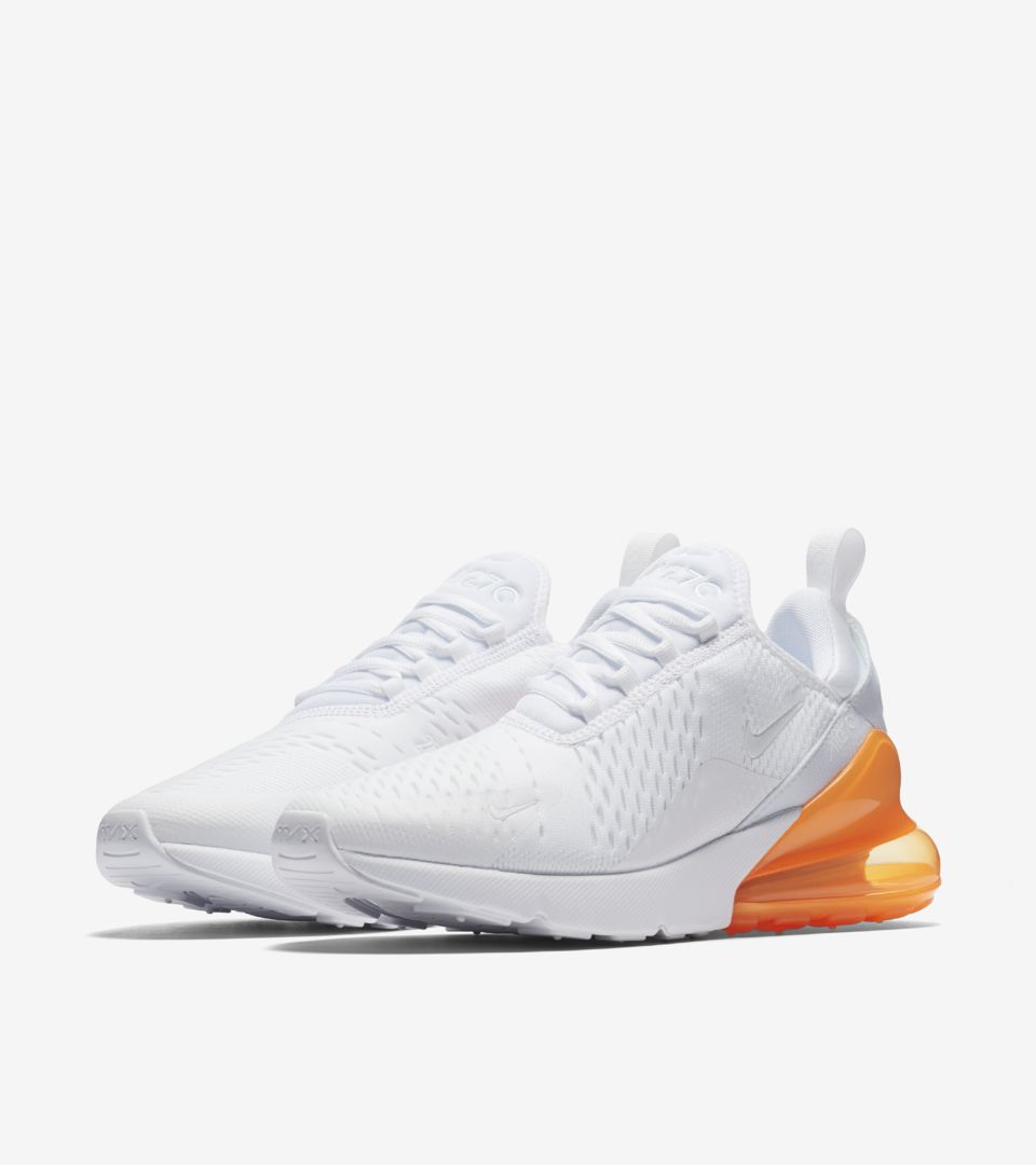 nike air max 270 orange et bleu
