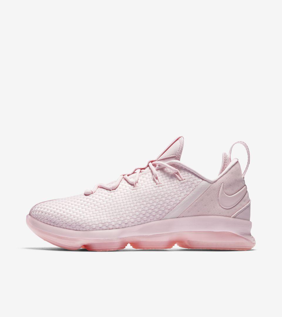 Nike LeBron 14 Low  Prism Pink . Nike+ SNKRS 5562eb81f4e5