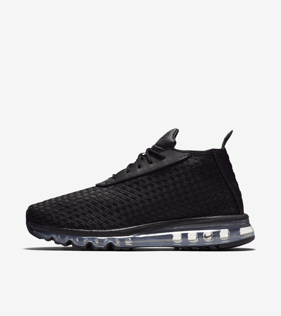 7e3afc4e35aa NikeLab Air Max Woven Boot  Black . Nike⁠+ Launch GB