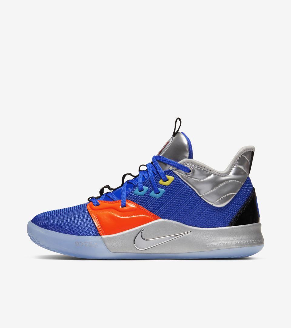 PG 3 'NASA Blue' Release Date. Nike