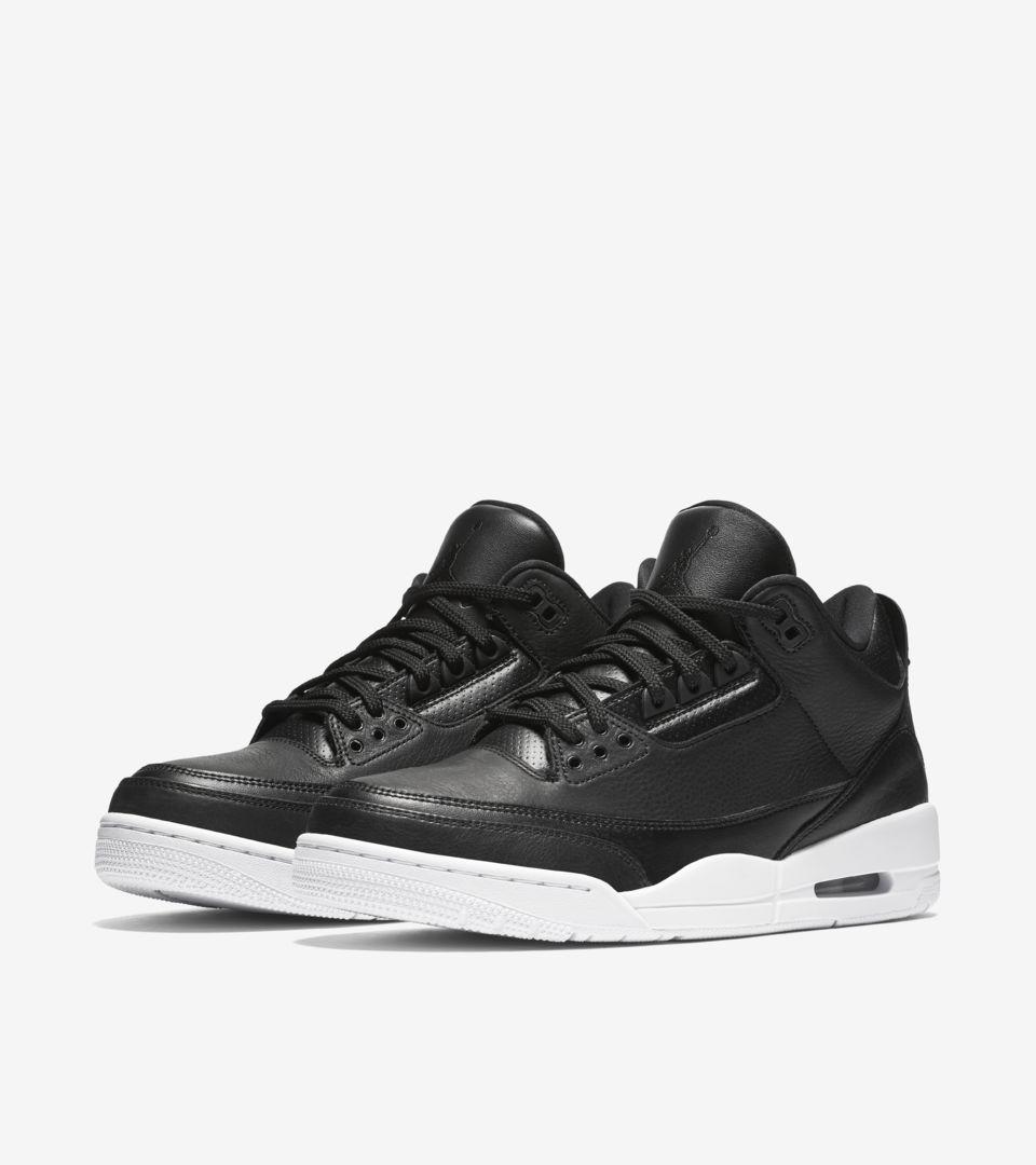 premium selection e5d29 a4913 Air Jordan 3 Retro 'Black & White' Release Date. Nike+ SNKRS