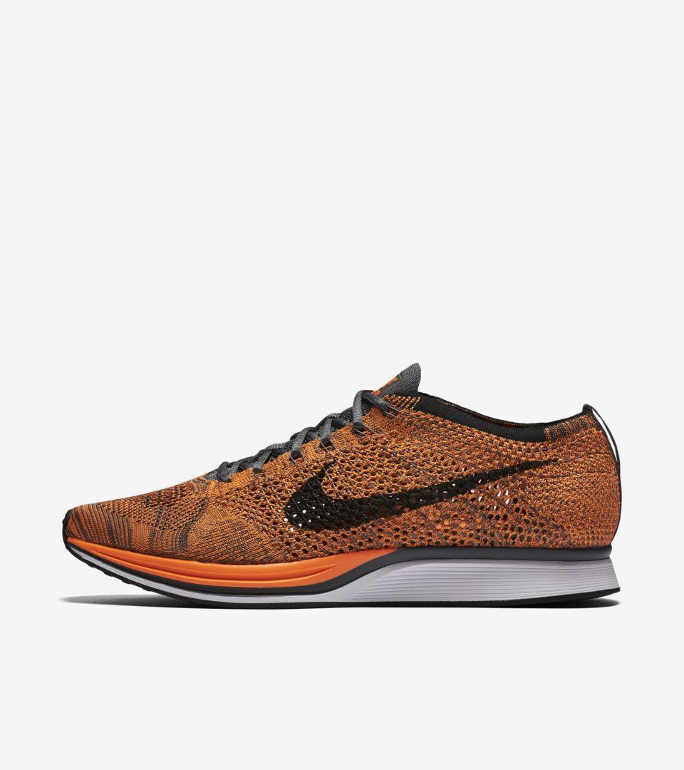 Nike Flyknit Racer 'Total Orange' Release Date. NikePlus SNKRS