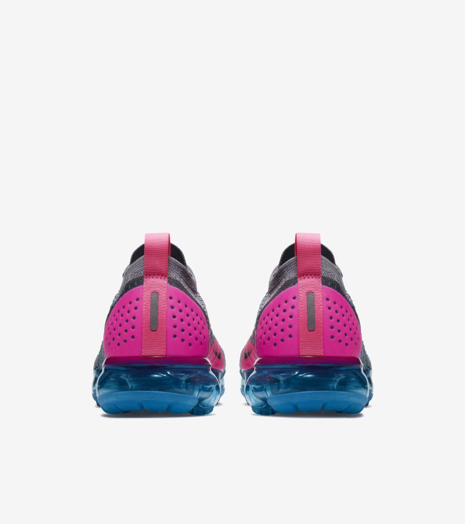 045a34fc01a Nike Women s Air Vapormax 2  Gunsmoke   Blue Orbit  Release Date ...