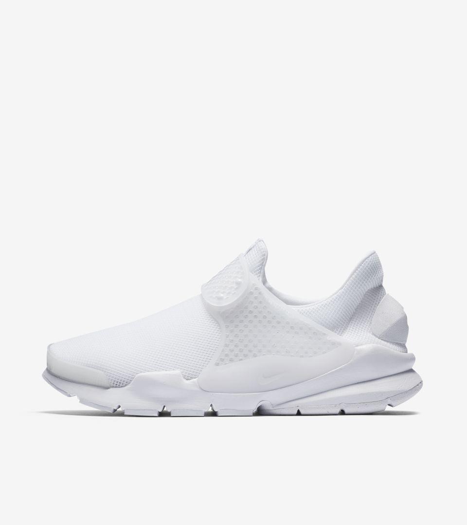 best cheap 71533 7db28 Women's Nike Sock Dart Breathe 'Triple White'. Nike+ SNKRS