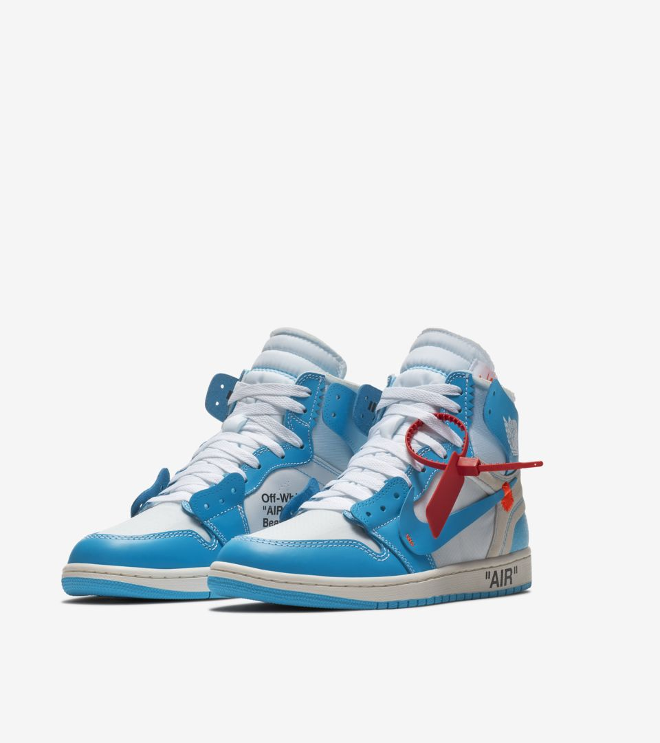 new style 012a4 0e9ff The Ten: Air Jordan 1 Off White 'Powder Blue' Release Date ...
