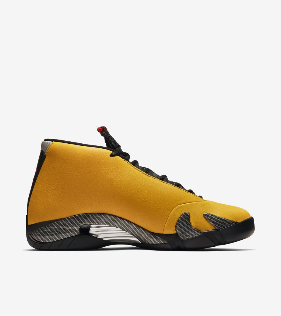 check out a1ca9 b810d Air Jordan XIV 'University Gold/Black/Red' Release Date ...