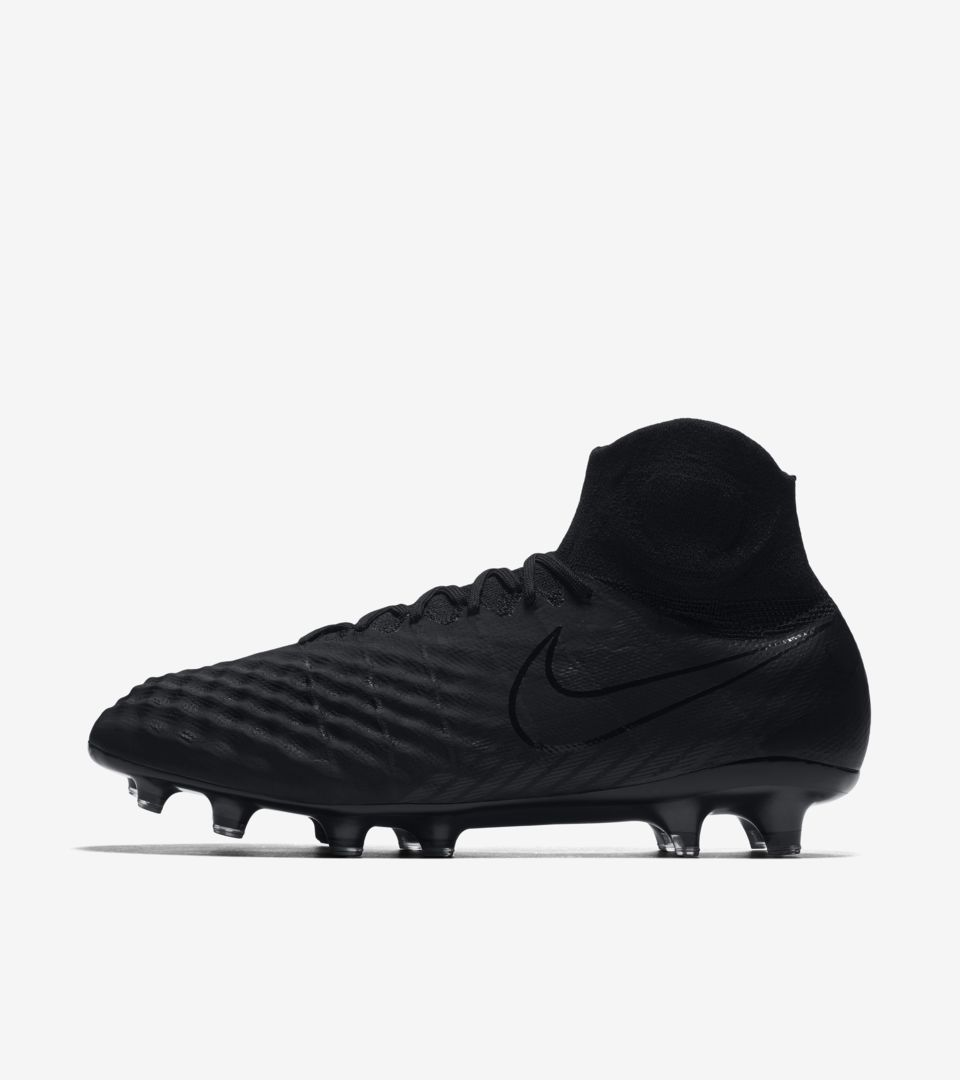 competitive price c379b ddef1 Nike Magista Obra II FG Academy Pack Alle Schwarz