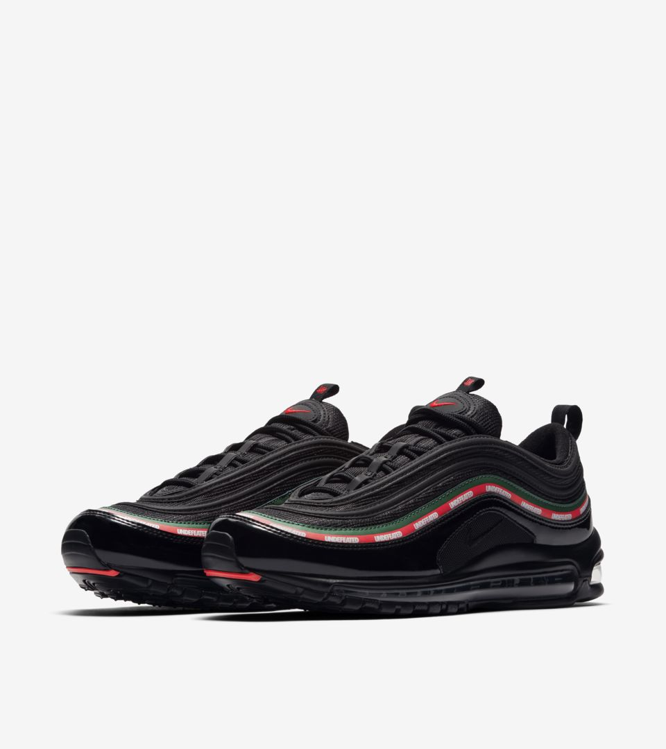 High Quality Undefeated x Nike Air Max 97 OG Sail White Red Green Women's Men's Running Shoes Trainers DC007372