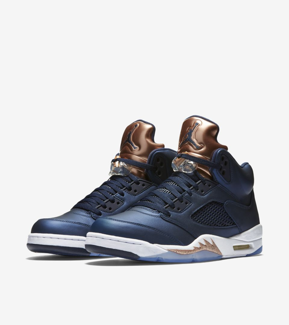 huge selection of ece32 4c99b Air Jordan 5 'Bronze' Release Date. Nike⁠+ SNKRS